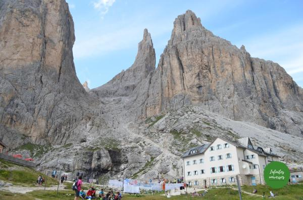 Vajolet towers desde Refugio Vajolet - Que ver en los Dolomitas