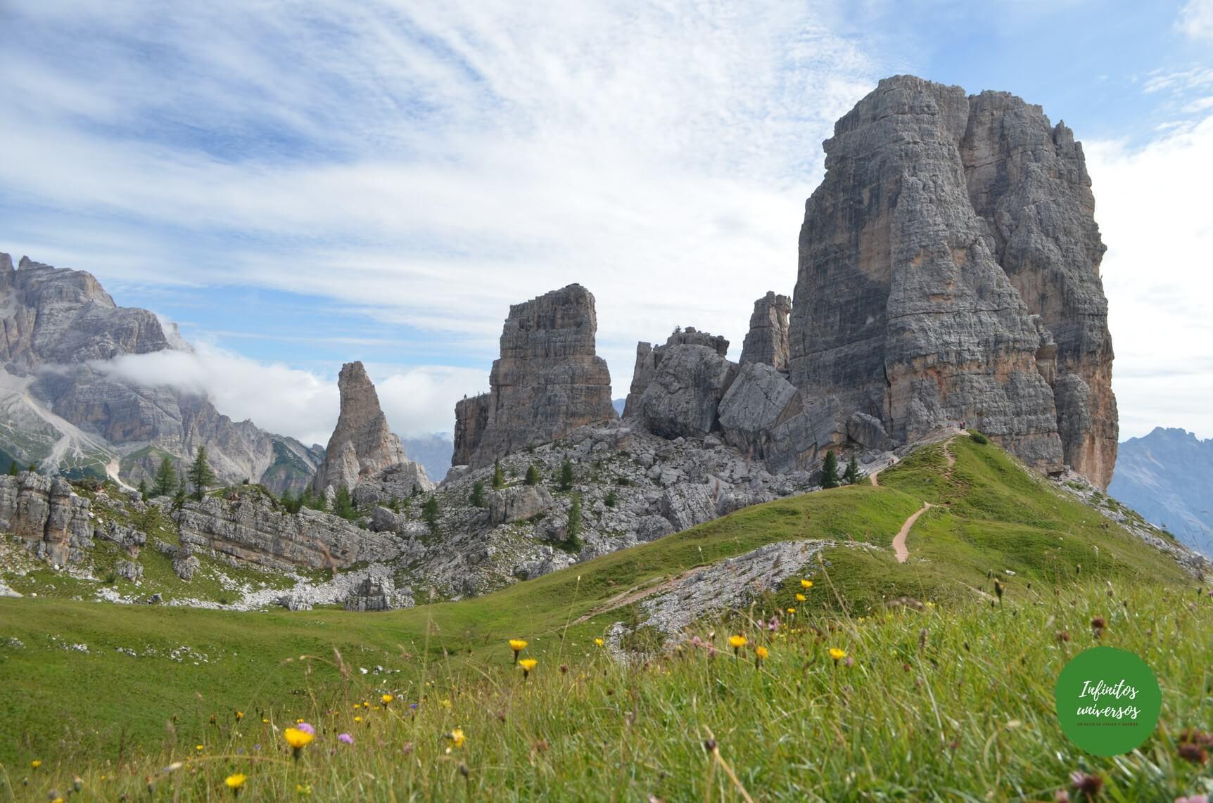Cinco Torres cinque torri - Europa en verano