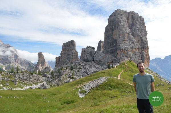 Cinco Torres - Que ver en los Dolomitas trekking dolomitas