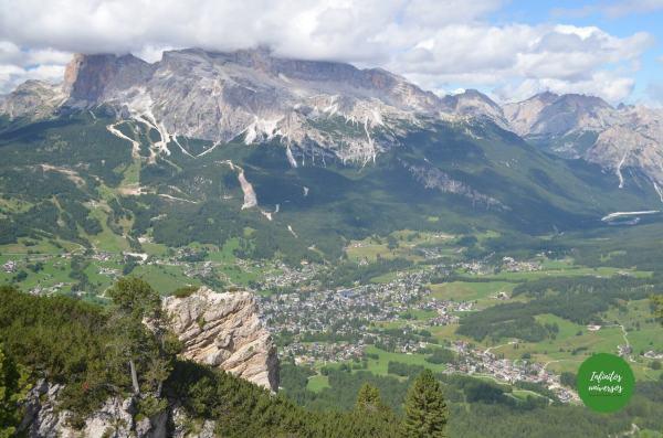 Vistas desde Faloria - Ruta por los Dolomitas en 10 días