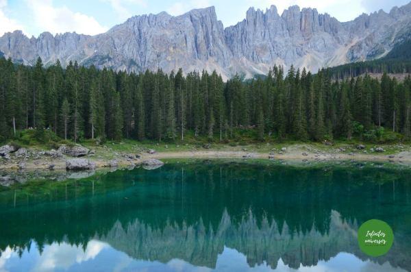 Lago Carezza - Que ver en los Dolomitas