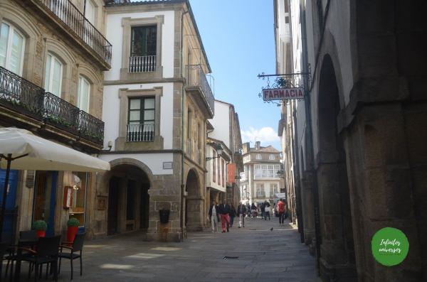 Rúa do Vilar - Que ver en Santiago de Compostela