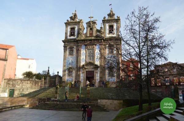 Iglesia Santo Ildefonso - Que hacer en Oporto