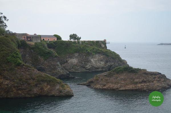 Fuerte de San Damián - Que ver en Ribadeo