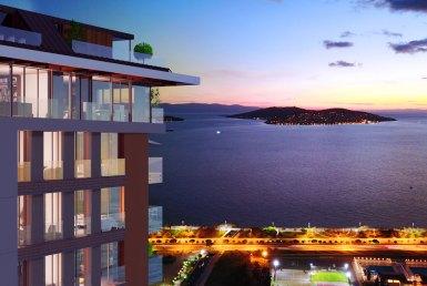 شقق للبيع في اسطنبول على البحر في مجمع Dragos
