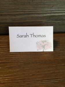 Table Name Card Weddings, Invitations, Stationary
