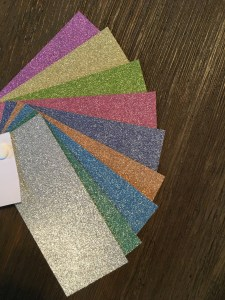 Glitter Cardstock Weddings, Invitations, Stationary