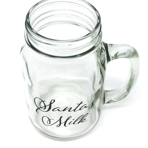 Santa's Milk Mug