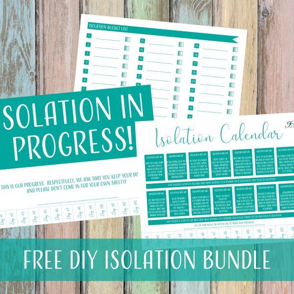 Free DIY Isolation Bundle