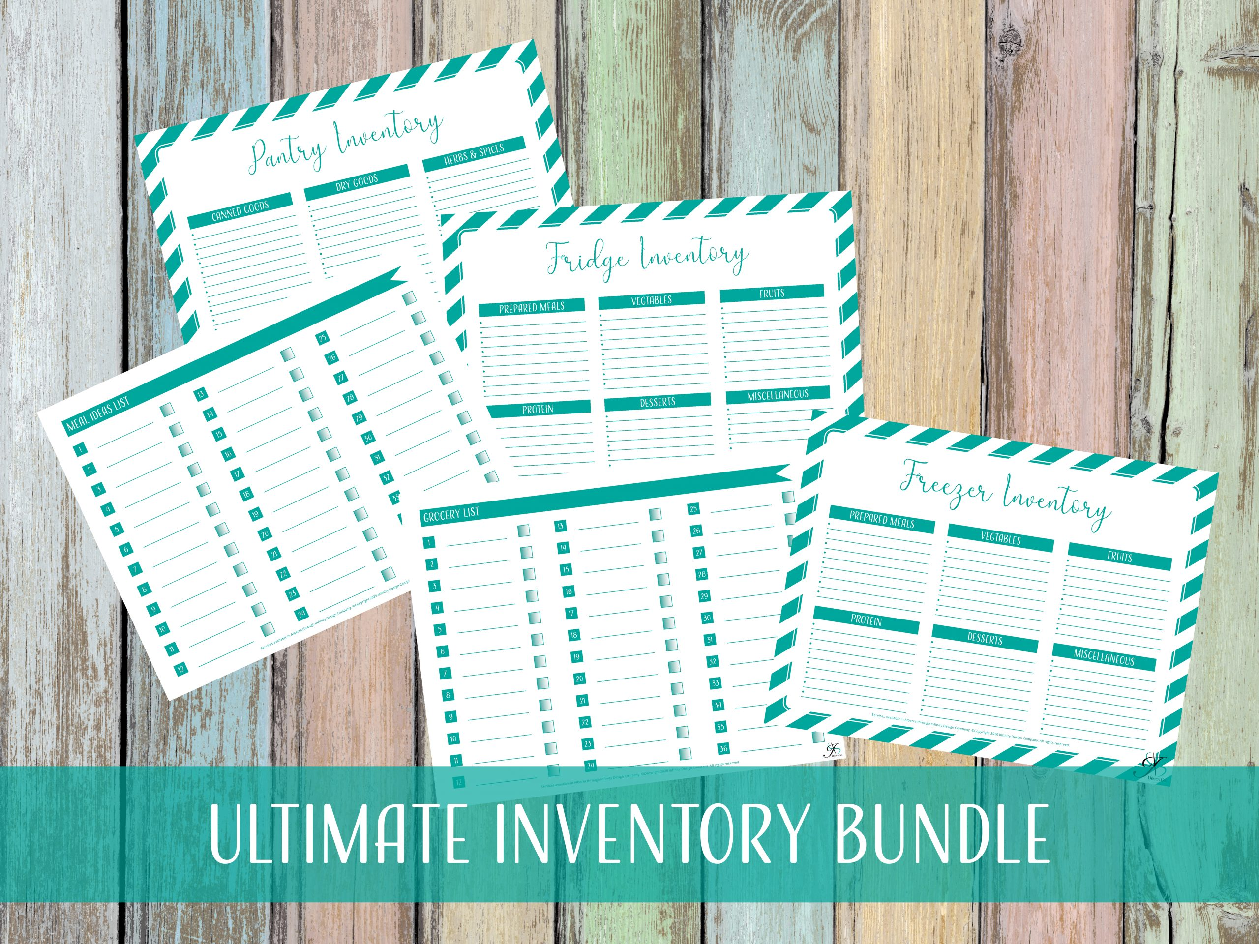 DIY Productivity Inventory Bundle