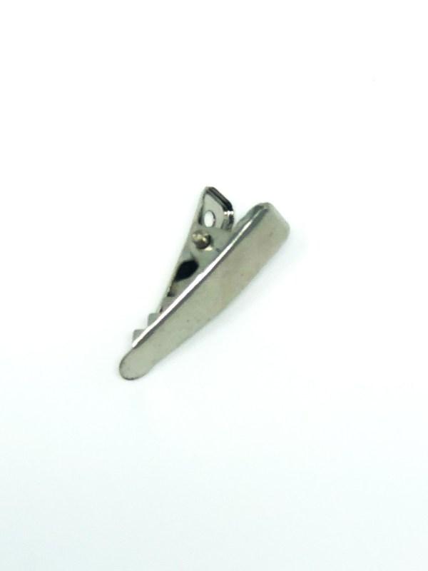 Small Silver Hair Clip