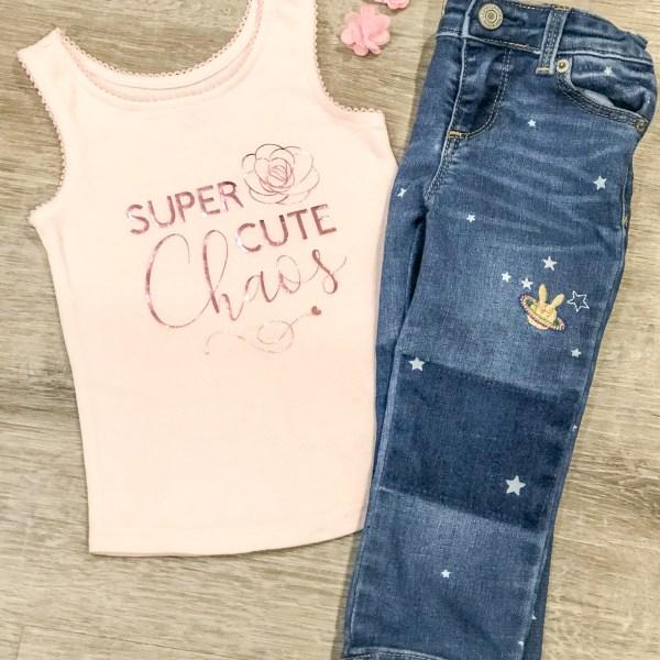 Cute Chaos Toddler T-Shirt
