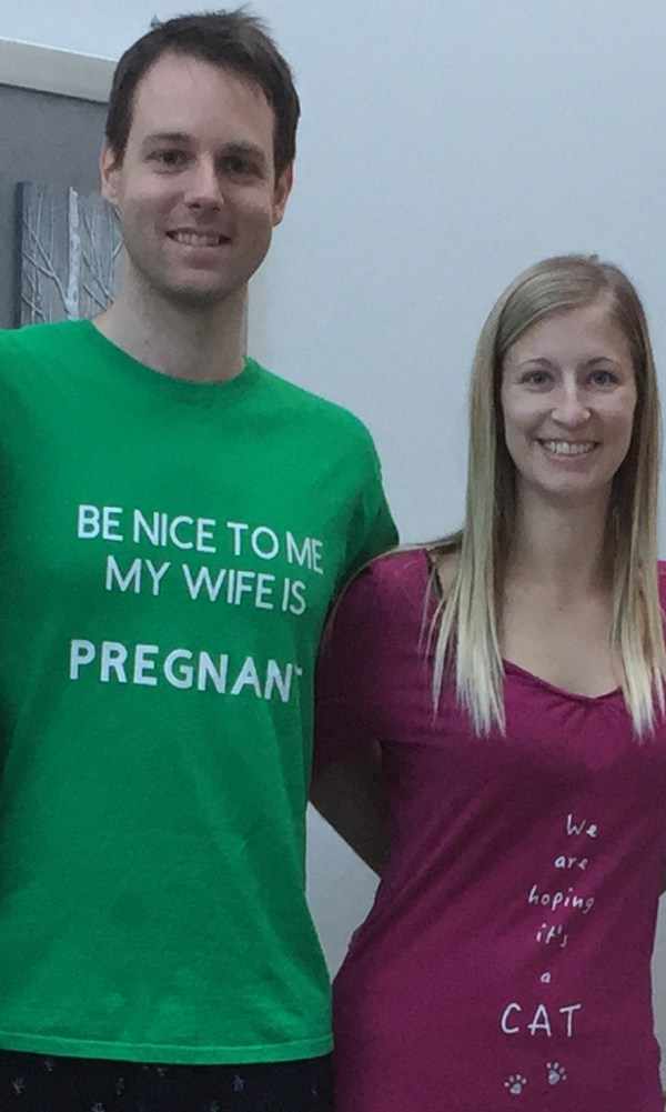 Preg Announcement Shirts