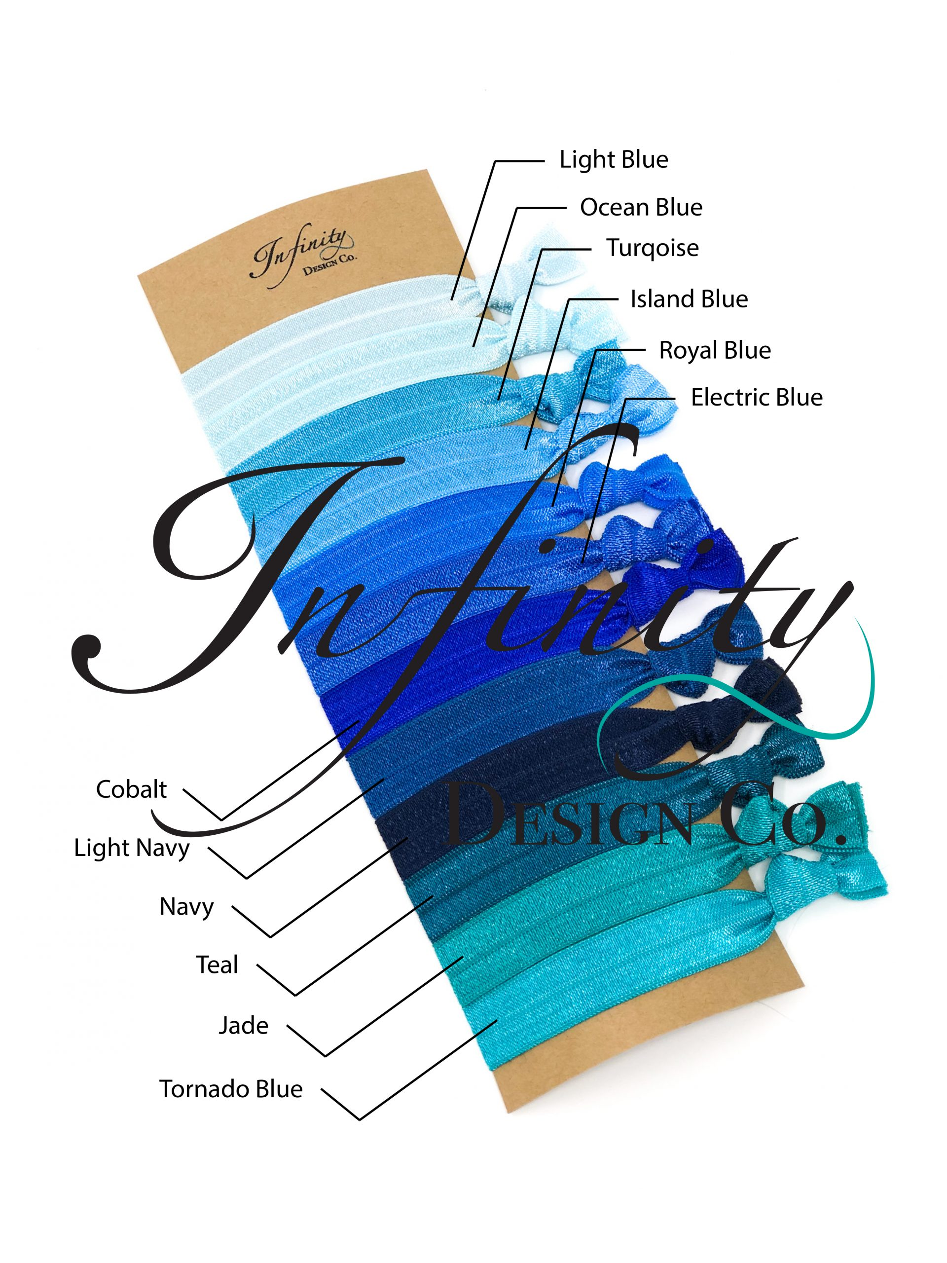 FOE Blues Color Swatches