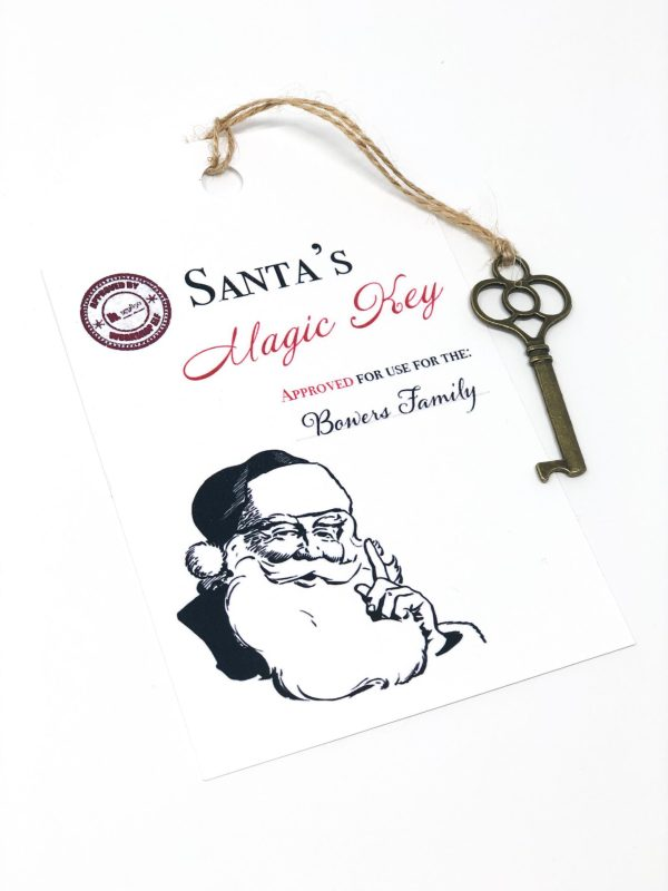 Santa's Magic Key For Christmas
