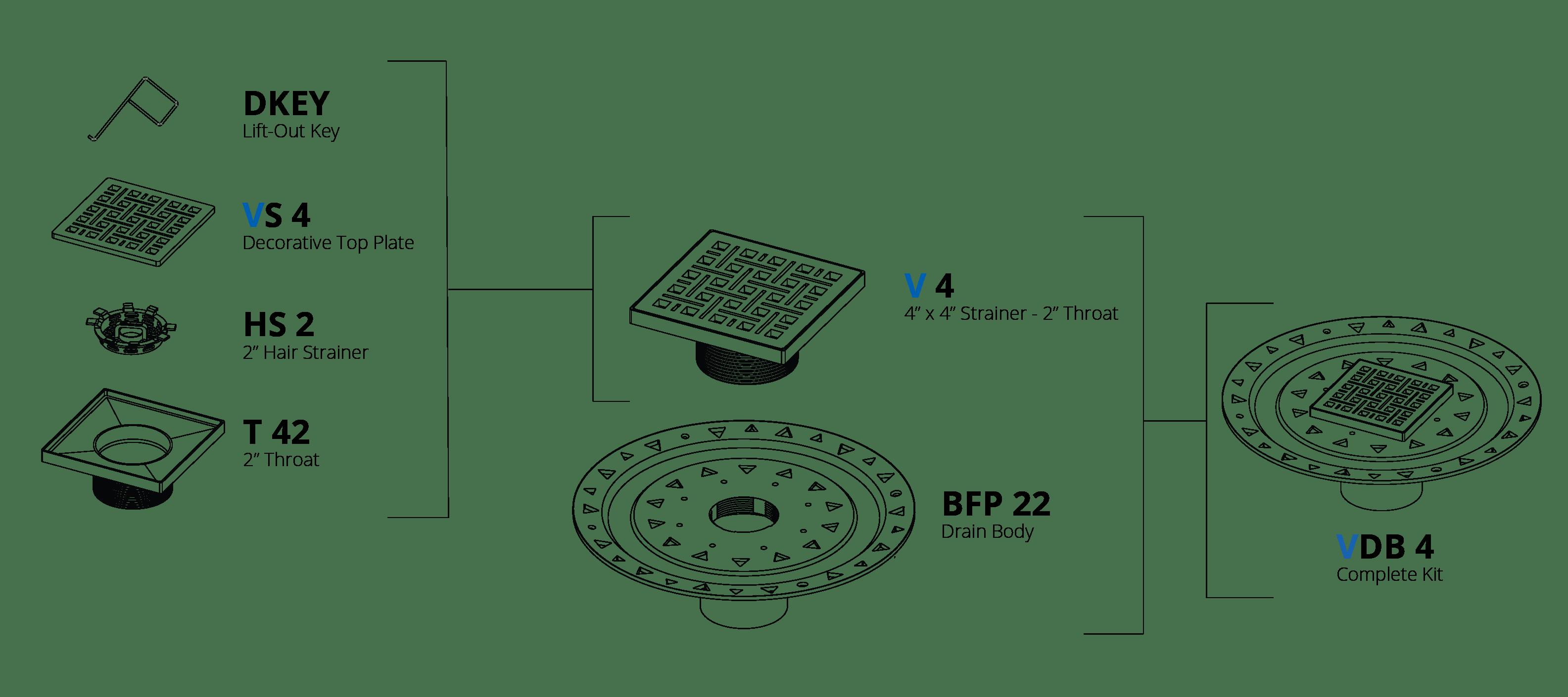 Weave Vdb 4 4x4 Bonded Kit
