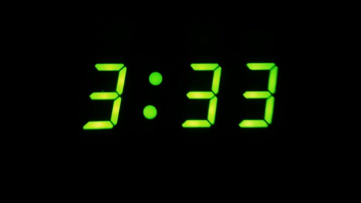 03:33 am, the time of the Dead