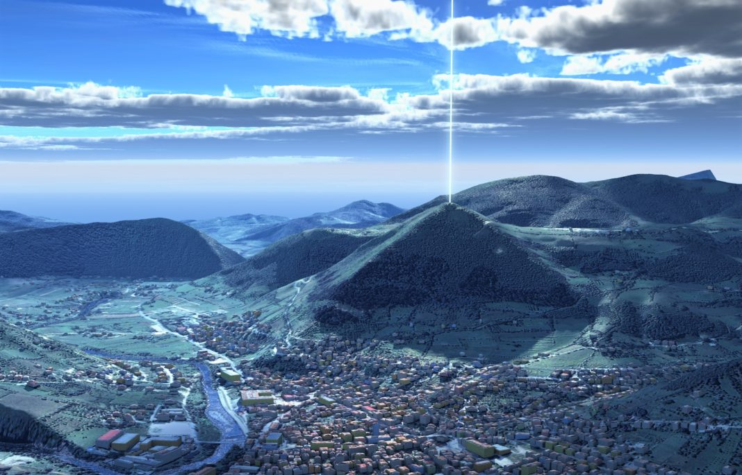 Tesla's torsion fields(waves) in the Bosnian Pyramids.