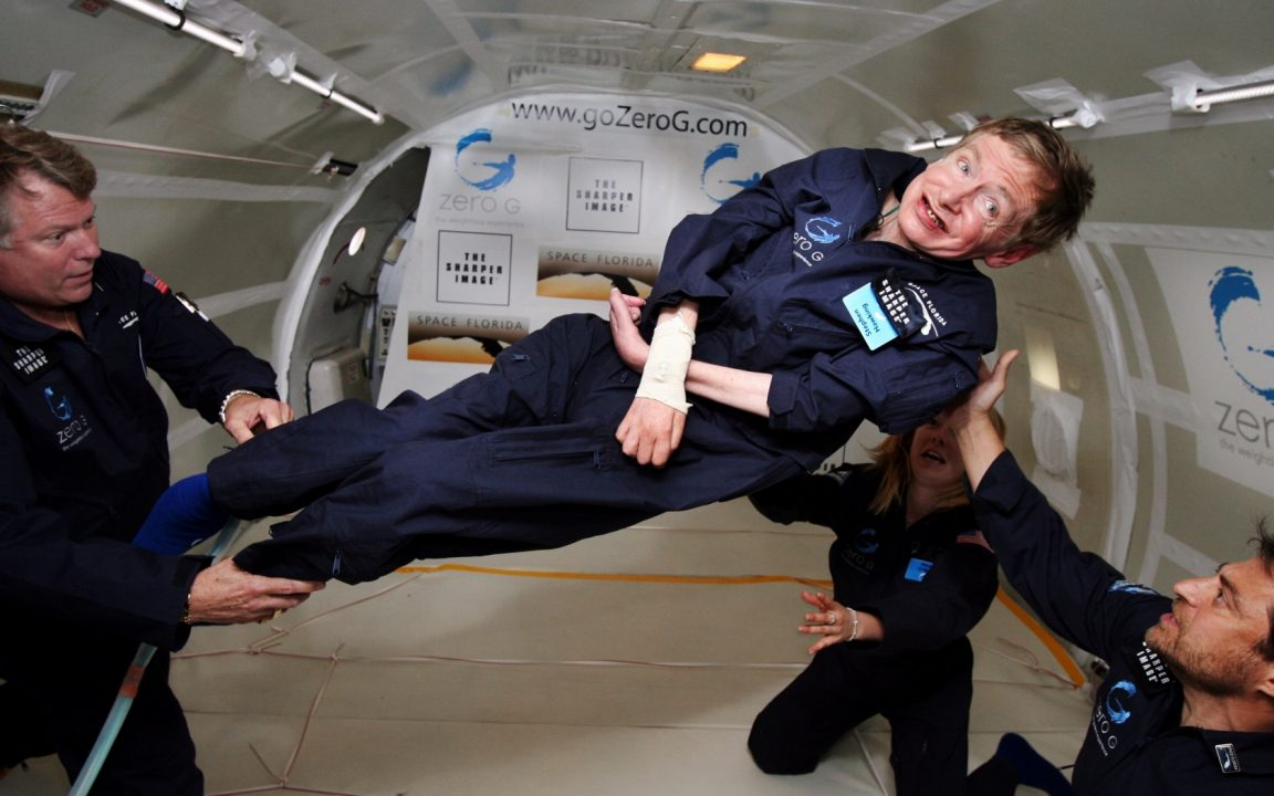 Stephen Hawking plans to travel to space via Virgin Galactic