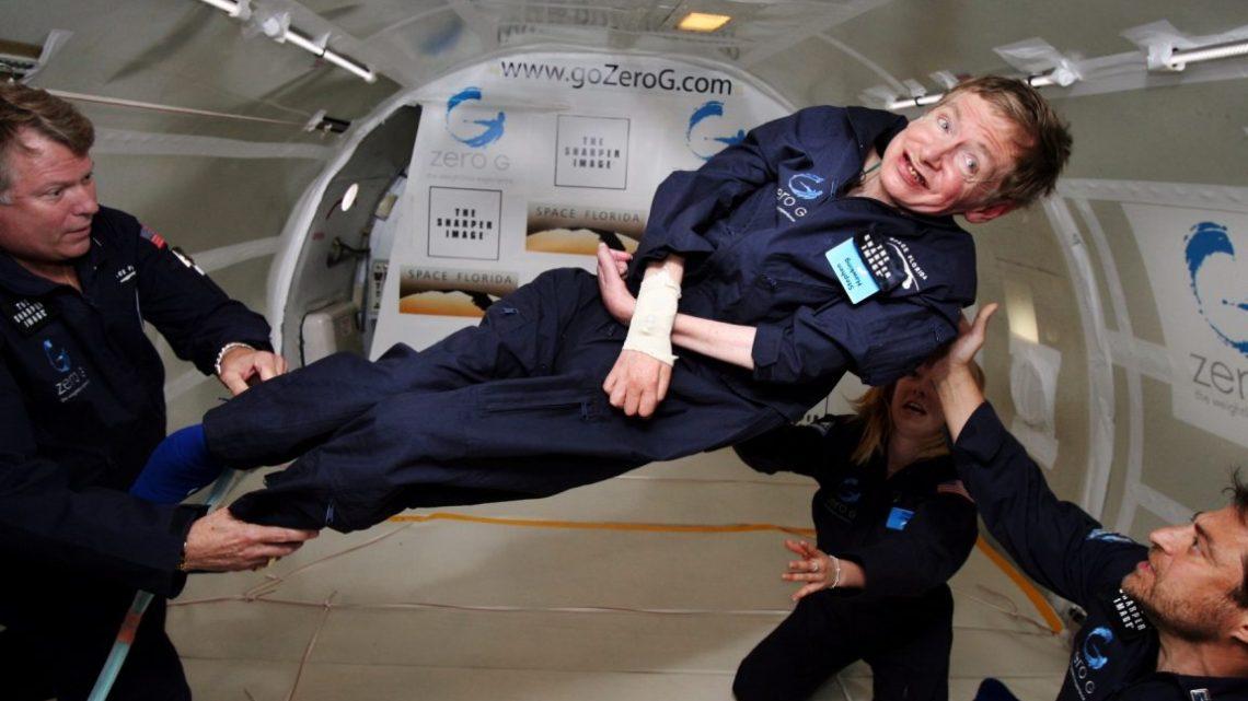 Stephen Hawking plans to travel to space via Virgin Galactic