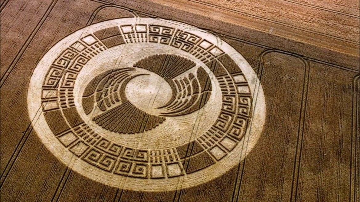 Crop Circles are extraterrestrial messages of the future says scientists and Ph.D