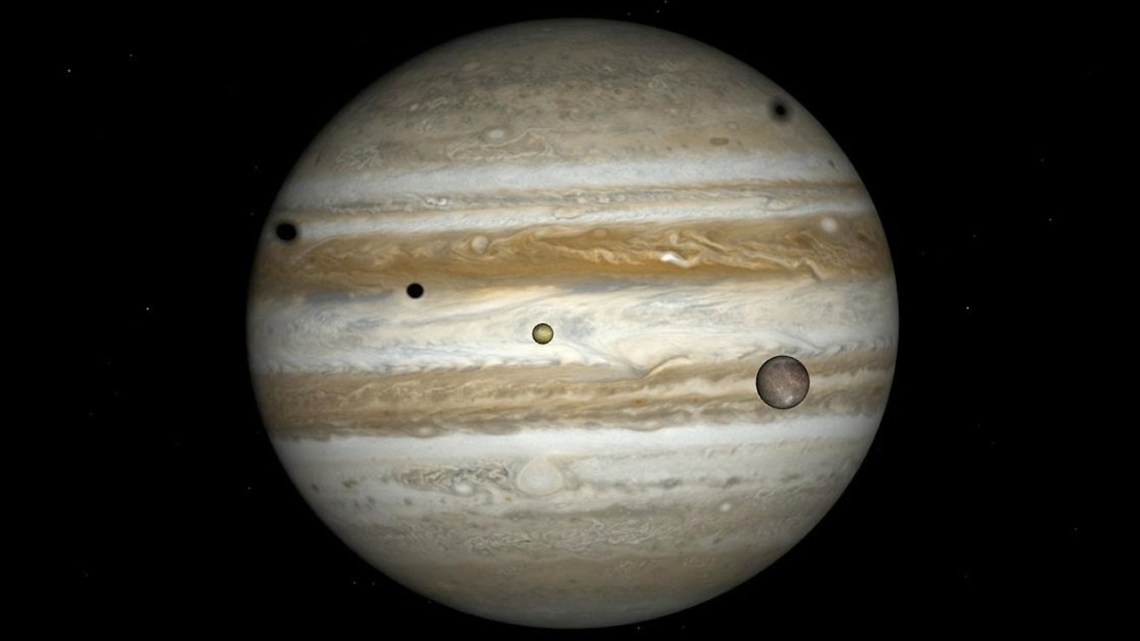 Scientists find two new moons on Jupiter