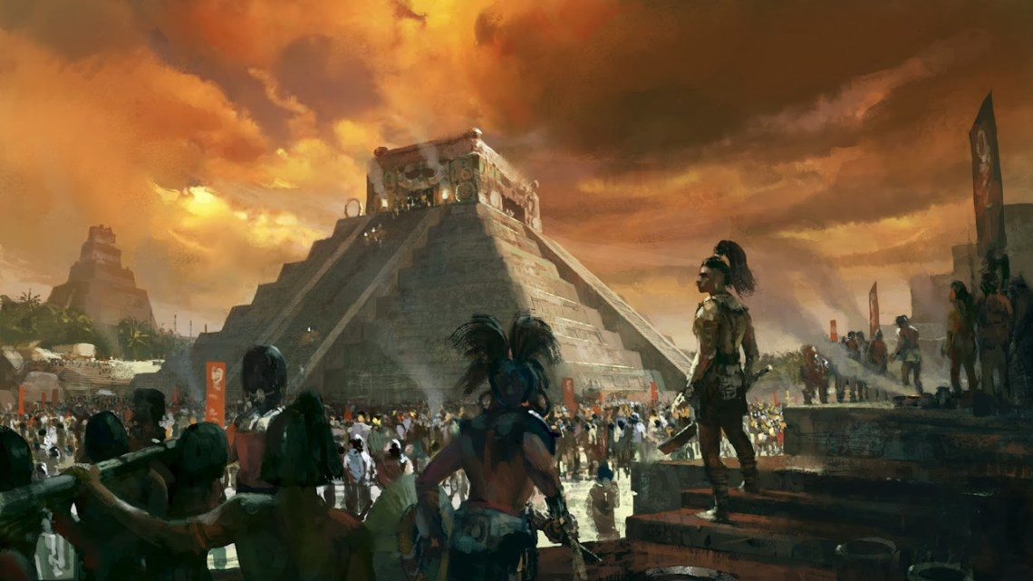 Beings of other worlds created the human being according to the Book of the ancient Mayas