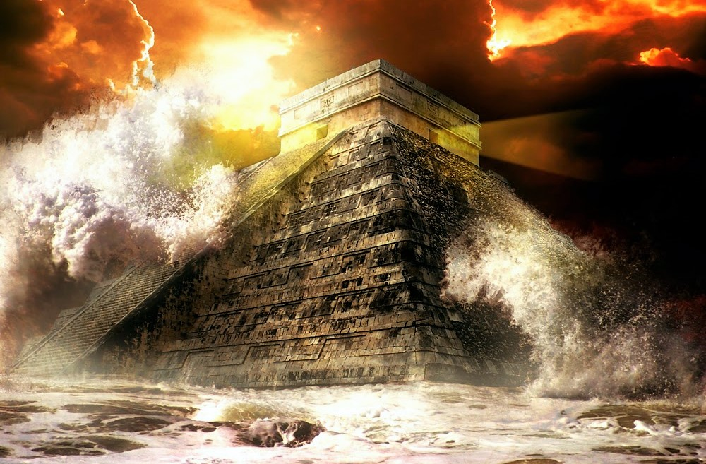The Book of the ancient Maya: Beings from other worlds created the Human being