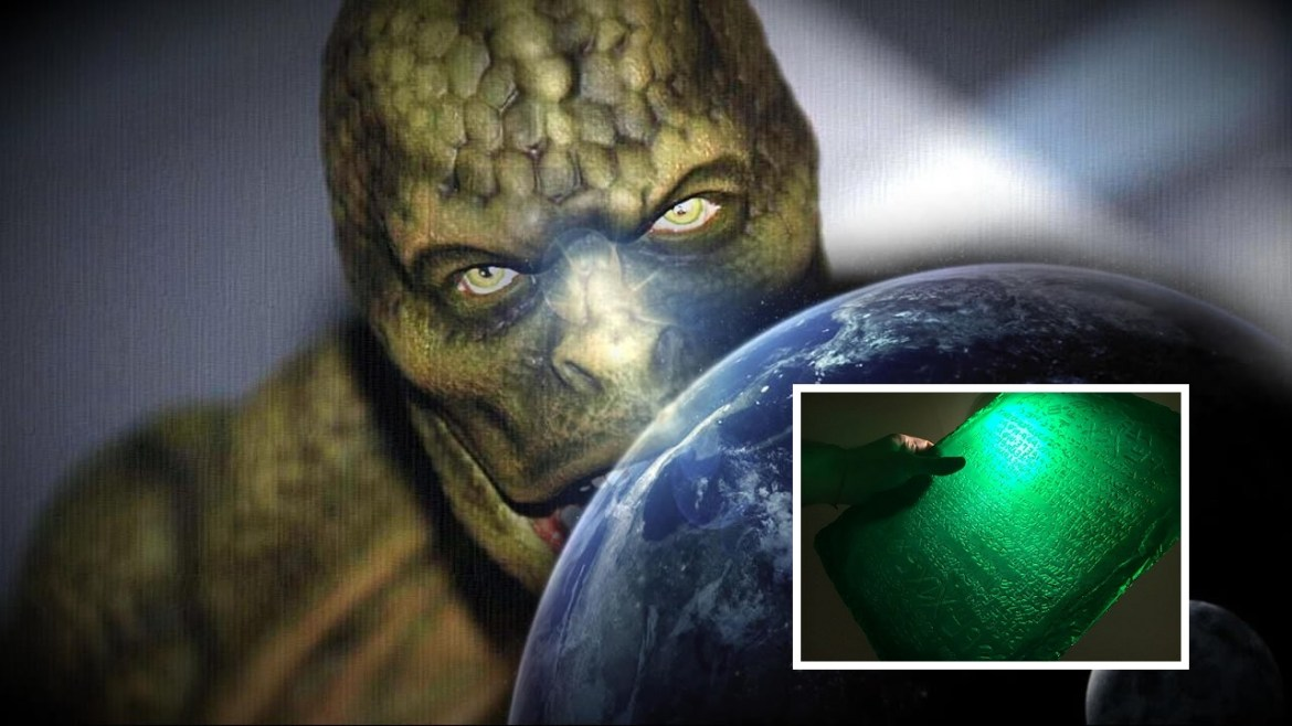 The emerald tablets of Thoth : Are the Reptilians owners of the World?