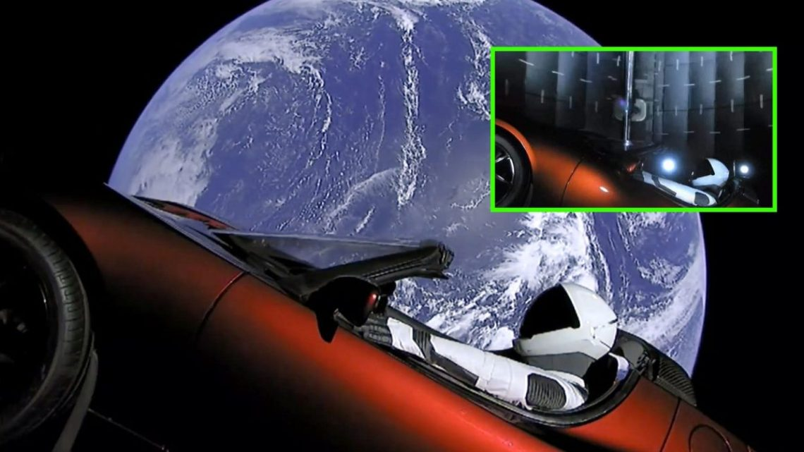 The images of Tesla in space were shot on a set ? Know the truth!