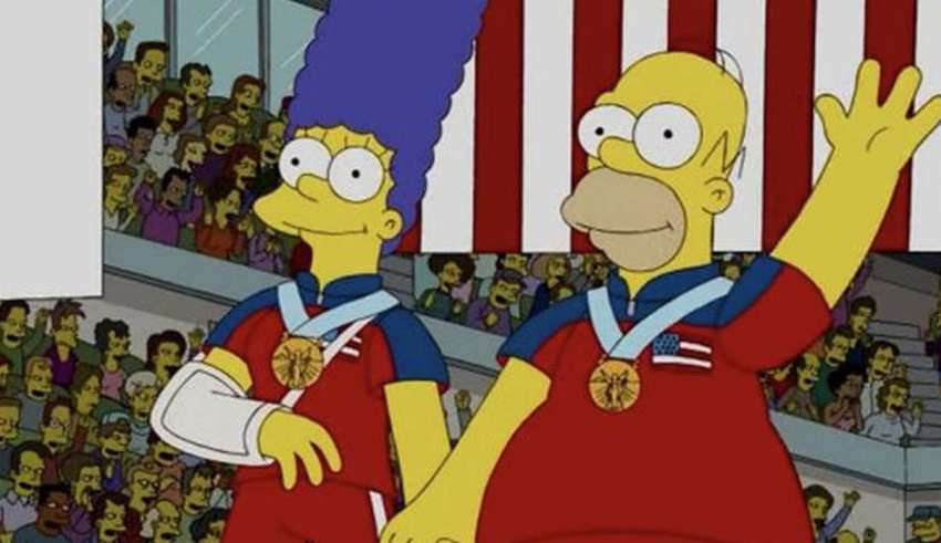 And they have done it again: The Simpsons predict the United States Olympic gold in curling