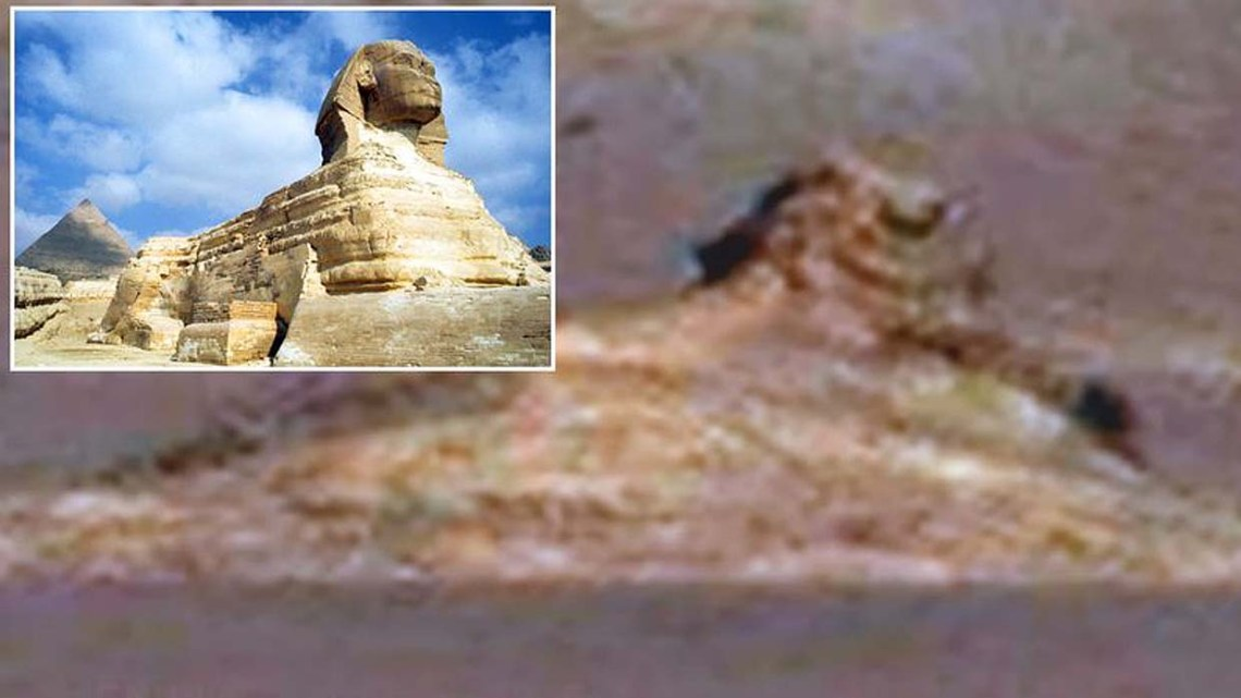They find a Great Sphinx on Mars, a new evidence that there was intelligent life on the red planet?