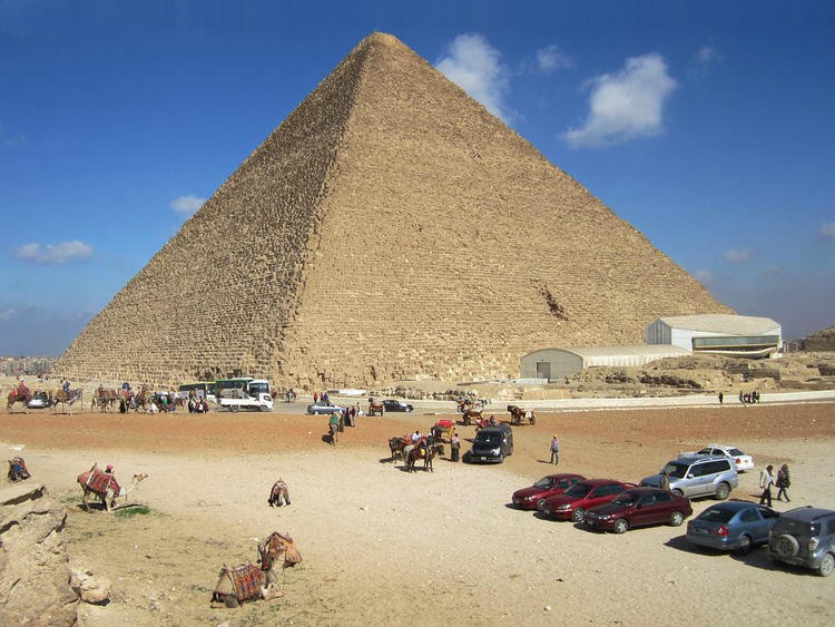 The Great Pyramid of Giza was a giant power machine