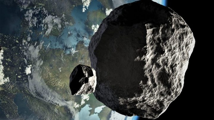 An Asteroid twice as big as an airplane will pass very close to Earth