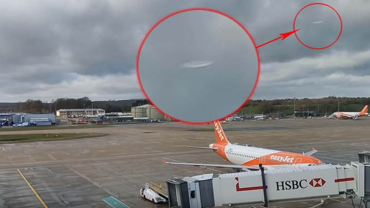 CONFIRMED: UFOs caused the closure of Gatwick airport and there is a video that shows