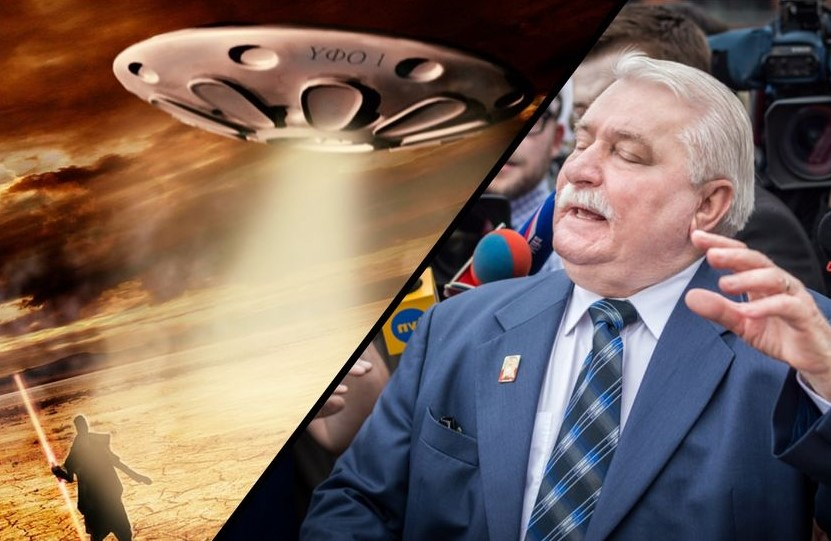 The former Polish president warns of an extraterrestrial invasion