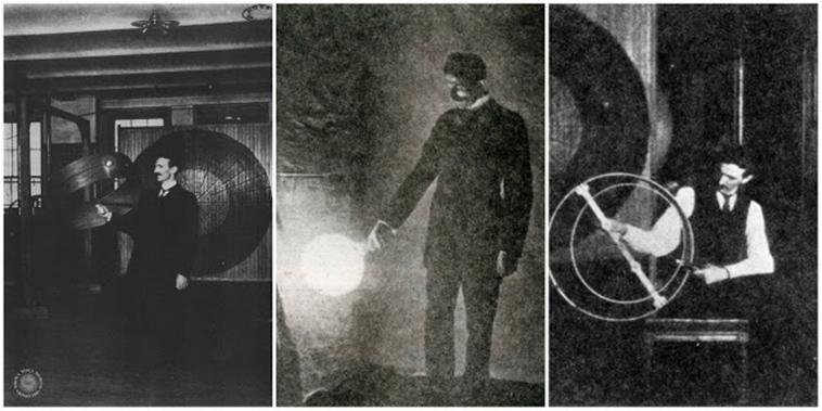 25 Unique and fascinating images of Nikola Tesla