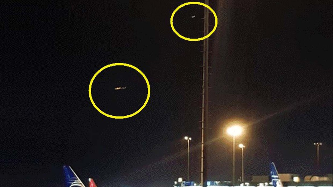 Peruvian authorities confirm the presence of two UFOs at the Jorge Chávez International Airport