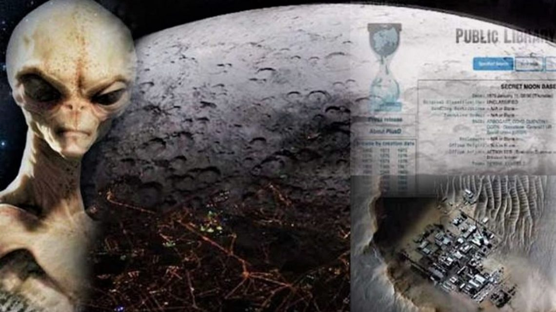 WikiLeaks confirms that the US destroyed an extraterrestrial moon base