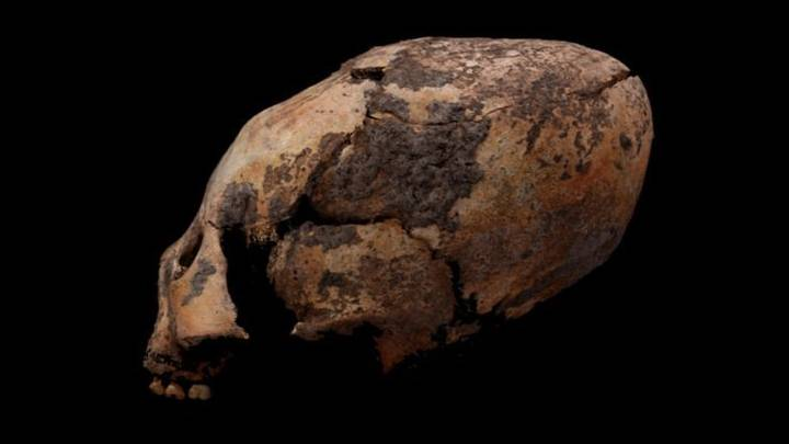 12,000 Years old elongated skulls found in China