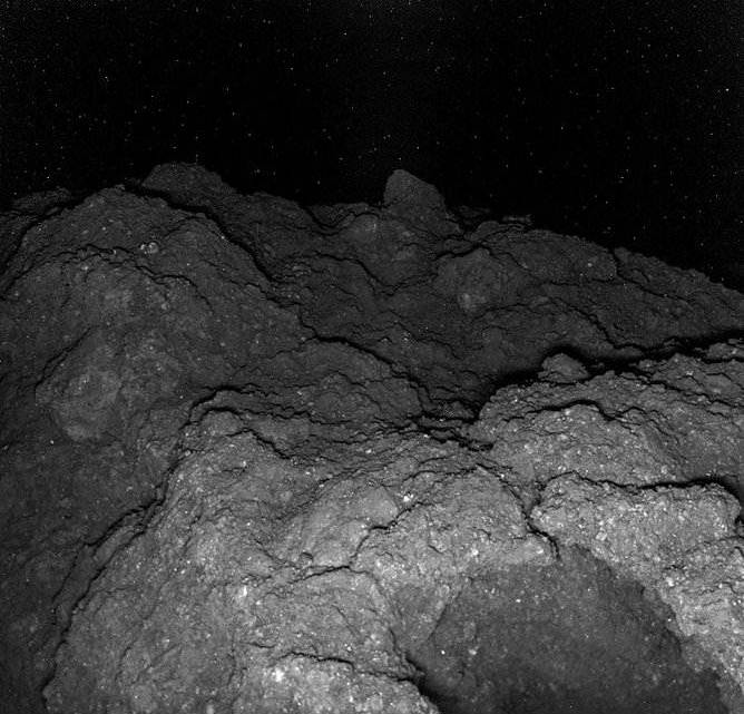 Closest Photo Of An Asteroid Ever Captured By Hayabusa 2