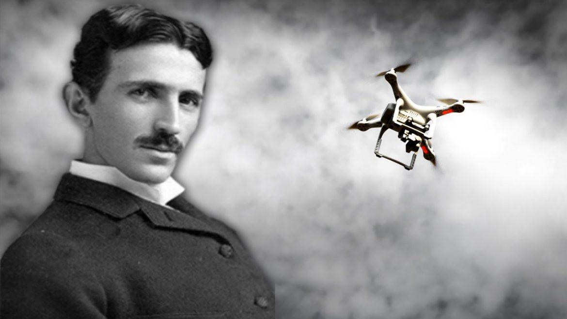 Nikola Tesla patented a Drone in 1898