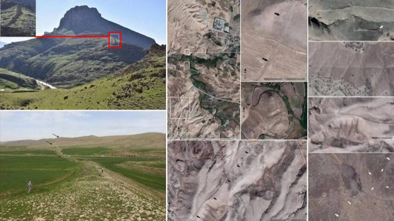 Archaeologists found a 100 km long mysterious wall in Iran(Wall of Gawri), but they don't know who built it