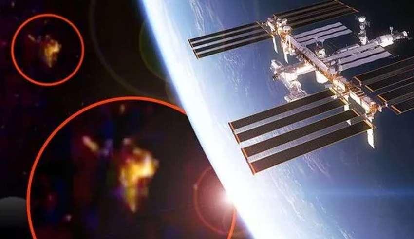 Russian cosmonaut reports a UFO near ISS