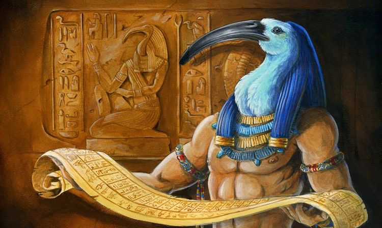 The book of Thoth and the forbidden knowledge of Egypt
