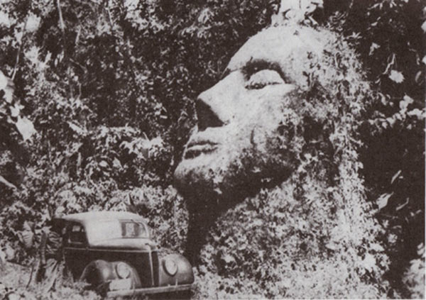 The Giant Stone Head Of Guatemala: Evidence of an Ancient Advanced Civilization?