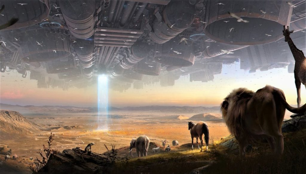 "Noah's ""Alien Experiment"" and the Universal Flood"