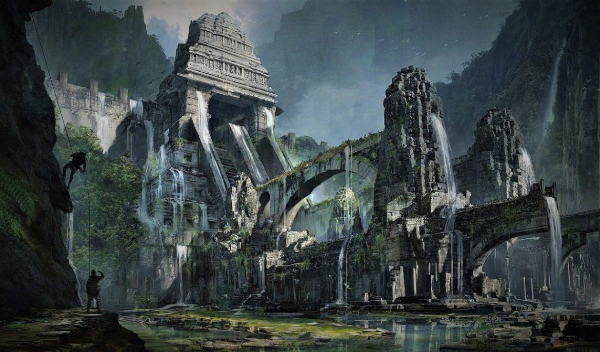 The lost city of Dwarka that was destroyed by an unknown force or vimanas