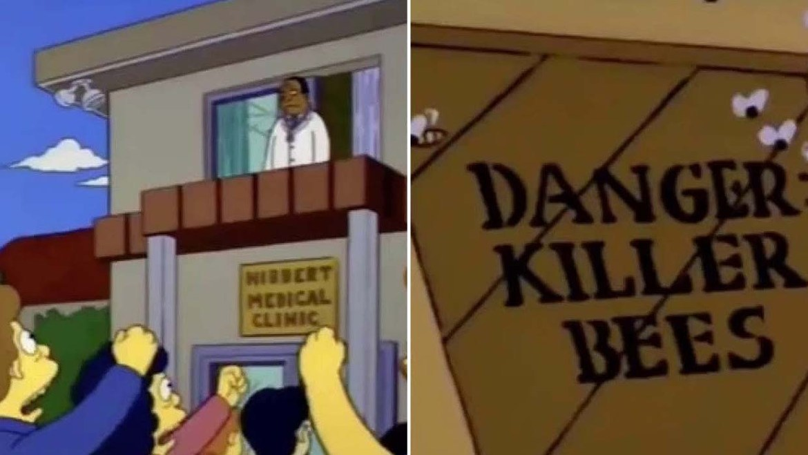 The Simpsons Predicted The Coronavirus And Killer Wasps In The United States.
