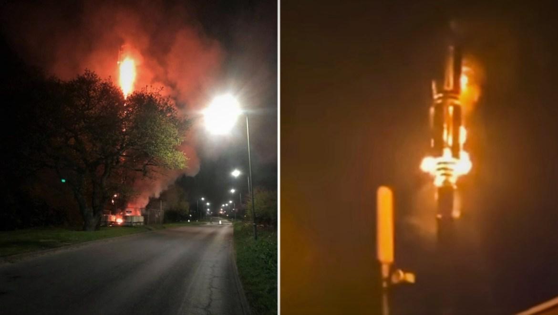 Citizens are burning 5G antennas around the world
